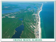 ORANGE BEACH, ALABAMA   $9.95  retail