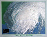 HURRICANE GEORGES  sold out available as custom or as an offered print, Click to see